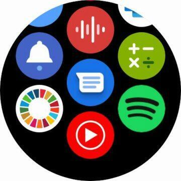 YouTube Music aplikace Wear OS hodinky nabídka aplikací