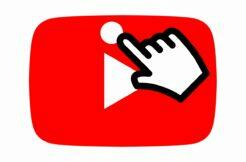 YouTube nové gesto posouvání videa