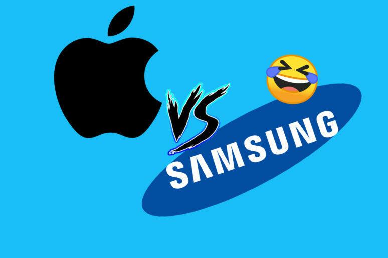 apple vs samsung twitter