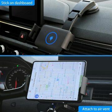 Automobilový držák s Qi nabíječkou pro Galaxy Fold