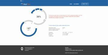 ČTÚ NetTest měření rychlosti download