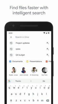 Google Disk vyhledávání