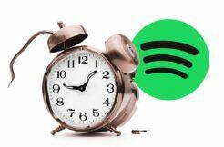 Google Hodiny nefunkční budík Spotify
