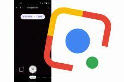 Google Lens Material You vzhled