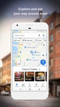 Google Mapy Explore