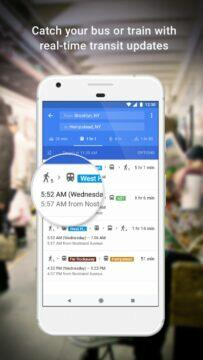 Google Mapy MHD