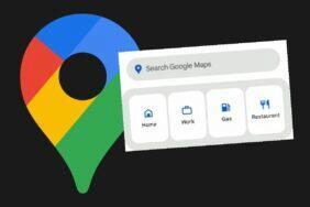 Google Mapy nový vyhledávací widget