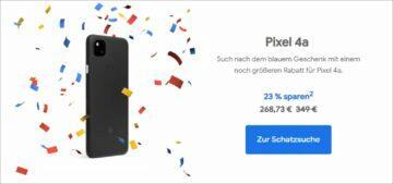 Google Německo narozeninové slevy Pixel 4a