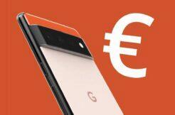 Google Pixel 6 evropské ceny