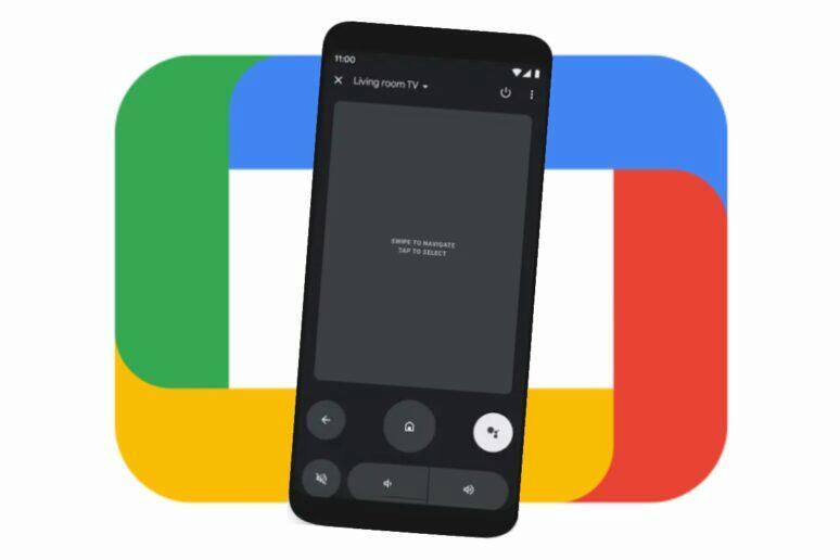 Google TV ovládání z mobilu