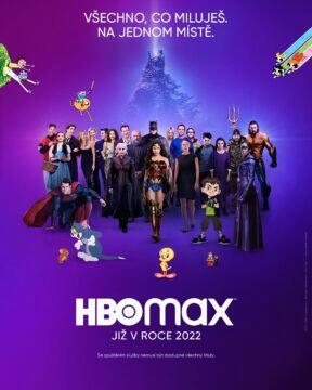 HBO Max ČR 2022 plakát