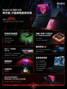 herní notebook xiaomi