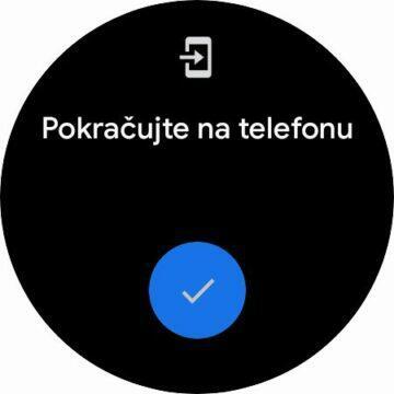 hodinky Samsung Galaxy Watch4 Wear OS Google Pay karta NFC platby nastavení v telefonu