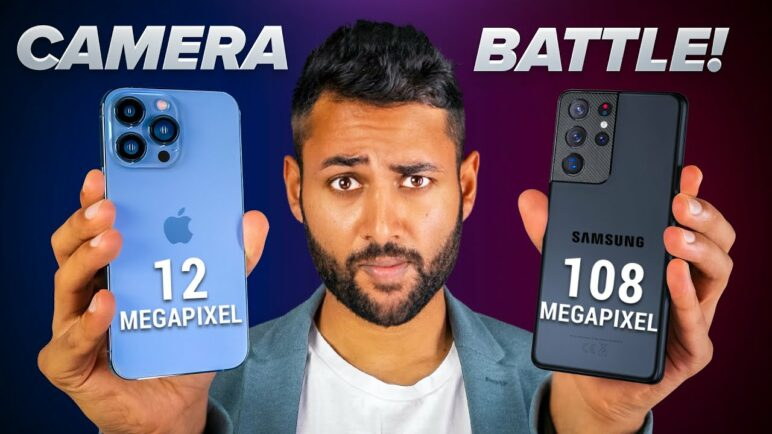 iPhone 13 Pro Max vs Samsung Galaxy S21 Ultra CAMERA TEST 🔥