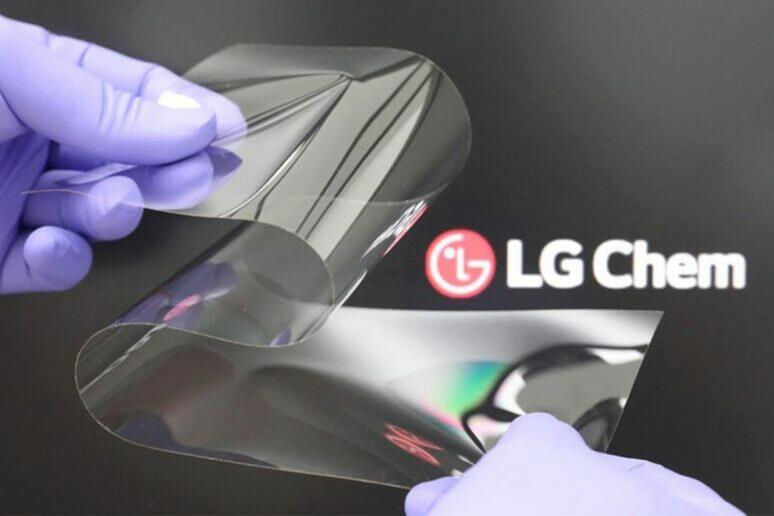 LG ohebný displej Real Folding Window