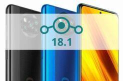 LineageOS 18.1 POCO X3 NFC