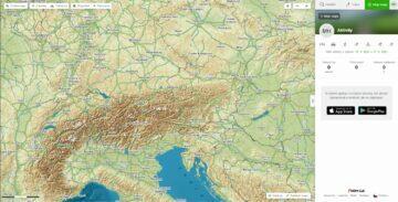 Mapy.cz Moje mapy uživatelský profil aktivity