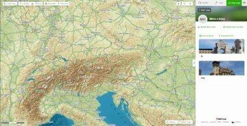 Mapy.cz Moje mapy uživatelský profil místa a trasy