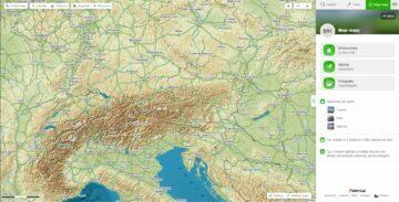 Mapy.cz Moje mapy uživatelský profil nové menu
