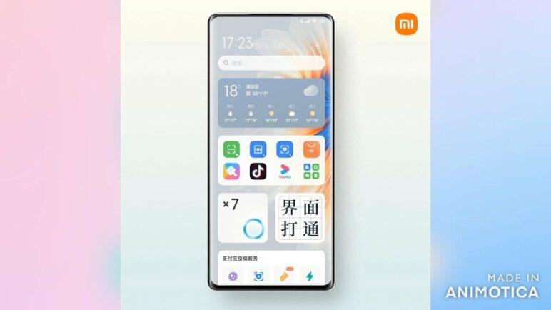 MIUI New iOS-like widgets - First Look