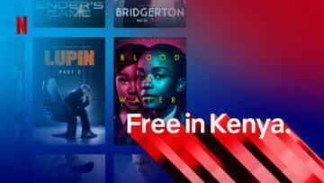 Netflix Android zdarma Keňa