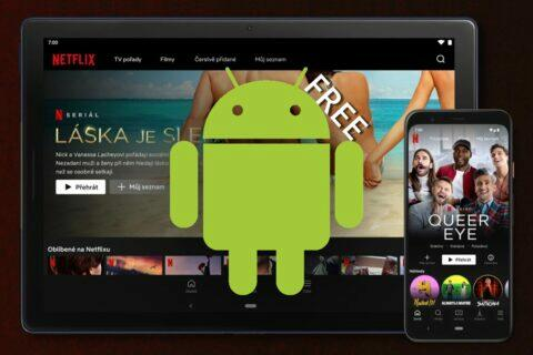 Netflix Android zdarma Keňa promo