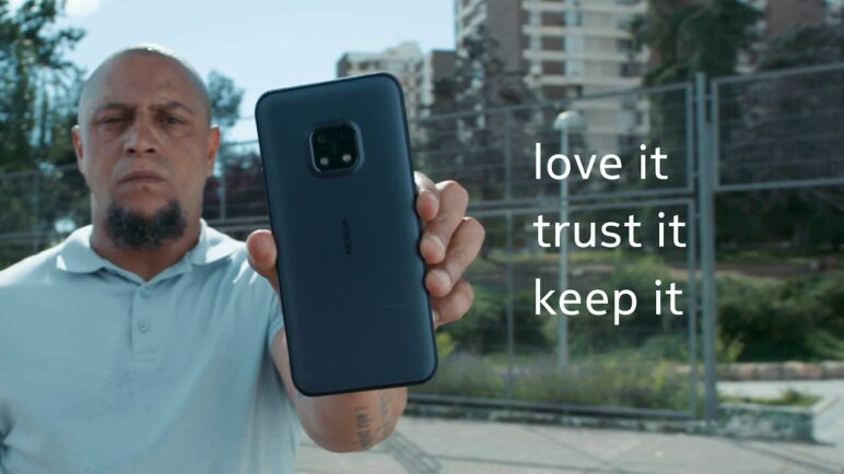 Nokia XR20: The #ToughestTest featuring Roberto Carlos and Lisa Zimouche