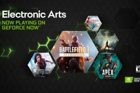 Nvidia GeForce Now a EA titul
