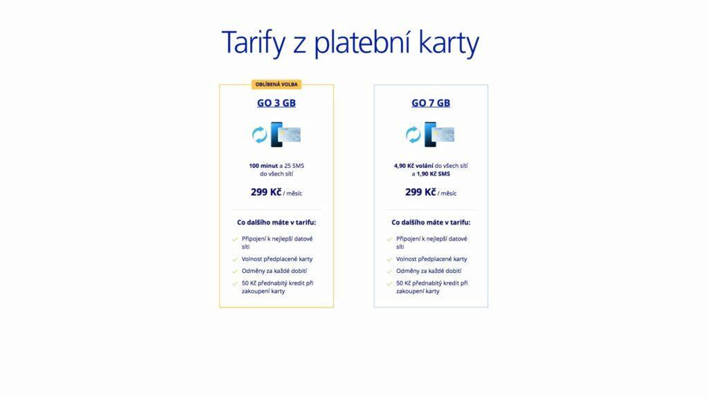 O2 GO tarify 2021