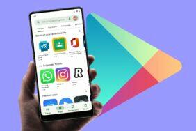 Obchod Play Android 12 redesign Material You