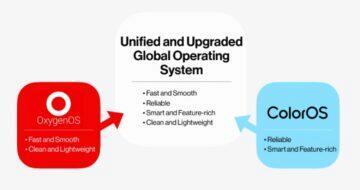 OnePlus 9T OxygenOS ColorOS spojeni