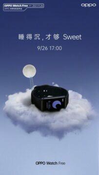 Oppo Watch Free hodinky