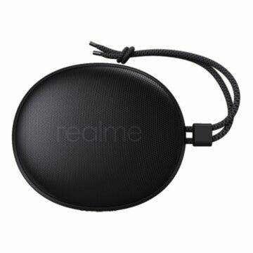 Realme Cobble Bluetooth speaker černá