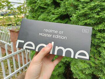 realme gt master edition displej