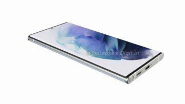 rendery Galaxy S22 Ultra 5G