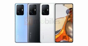 Rendery Xiaomi 11T Pro