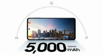 Samsung Galaxy M52 5G baterie