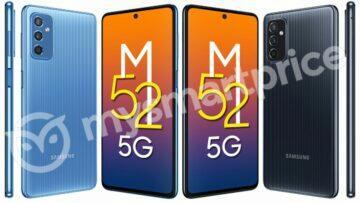 Samsung Galaxy M52 5G dostane 120Hz displej