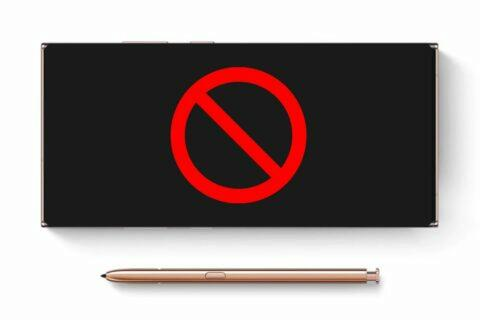 Samsung Galaxy Note řada série konec název