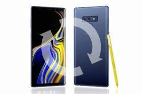 Samsung Galaxy Note9 čtvrtletní záplaty update
