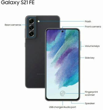 Samsung Galaxy S21 FE bez slotu na microSD