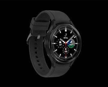 Samsung Galaxy Watch4 Classic černá bok