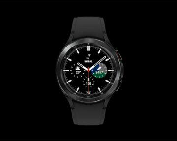 Samsung Galaxy Watch4 Classic černá čelo