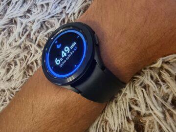 Samsung Galaxy Watch4 recenze funkce spánek