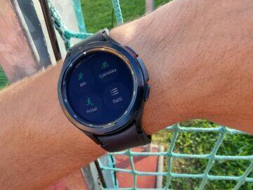 Samsung Galaxy Watch4 recenze funkce sporty