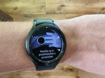 Samsung Galaxy Watch4 recenze funkce stavba těla 1