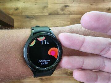 Samsung Galaxy Watch4 recenze funkce stavba těla 2