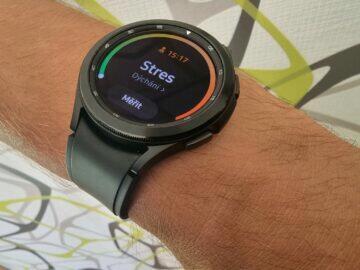 Samsung Galaxy Watch4 recenze funkce stres