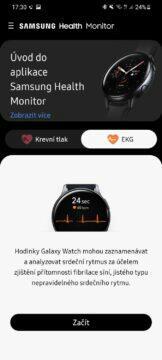 Samsung Health Monitor 1 EKG