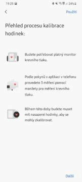 Samsung Health Monitor 3 kalibrace
